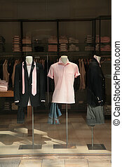 mannequins, in, winkel