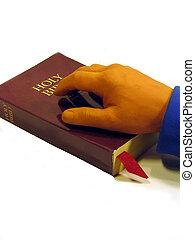 mano, bibbia
