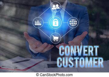 mano, buyer., táctica, mercadotecnia, showcasing, estrategia, conceptual, empresa / negocio, vuelta, actuación, escritura, converso, customer., foto, plomos