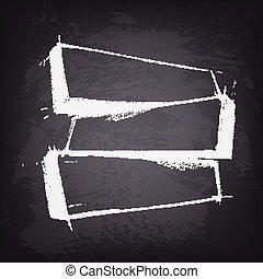 Stile testo mano boho posto cornici disegnato tuo - Posto con molti specchi ...