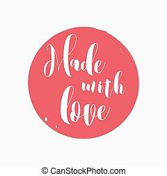 mano, disegnato, handcrafted, fatto mano, francobollo, e, inchiostro, macchia, con, durty, struttura, forma