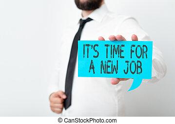 mano, esposizione, relativo, affari, job., visualizzazione, dall'aspetto, opportunità, showcasing, tempo, foto, differente, concettuale, meglio, nuovo, content., note, dare risalto, scrittura, colore gestione