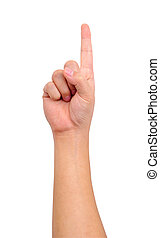 mano, humano, señal