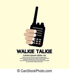 mano., película sonora de walkie