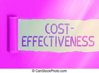 mano, relazione, scrittura, tavola., affari, classico, efficace, cartone, legno, foto, testo, cost., effectiveness., sopra, strappato, qualcosa, relativo, esposizione, costo, strappato, grado, concettuale, rotolato