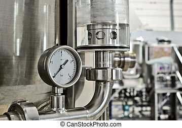 Manometer pressure on the oil and gas industry