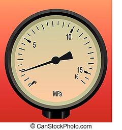 Manometer use for pressure
