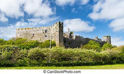Manorbier Castle Wales