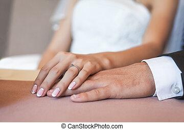 manos, amor, pareja