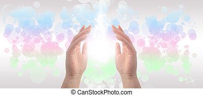 manos curativas