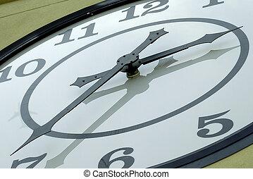 manos de reloj