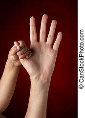 manos, -, hã¤nde