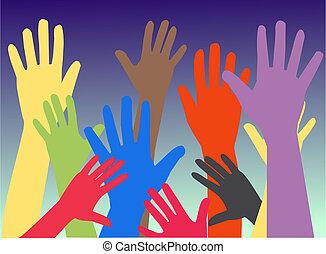 manos humanas