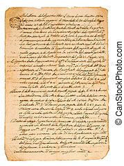 manoscritto