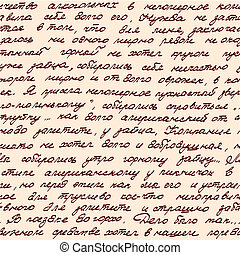 manoscritto, seamless, basato, struttura