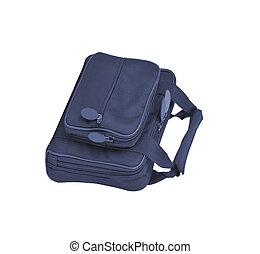 man's handbag isolated