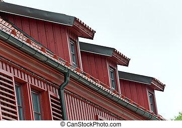 Abbaino windows quadrato tetto olandese tipico foto for Abbaino tetto prezzi