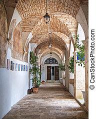 Manse St. Antonio church. Martina Franca. Apulia. - This is...