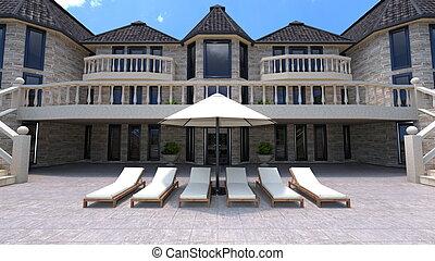 mansión