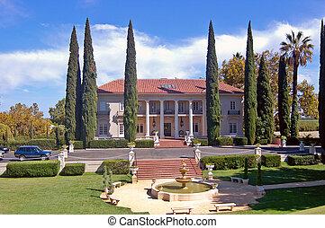 mansión, histórico