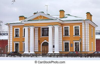 mansión, viejo