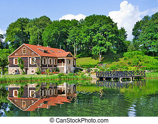 Mansion by the Lake