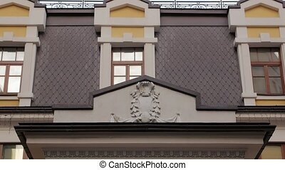Mansion Exterior Facade - Mansion exterior facade building...