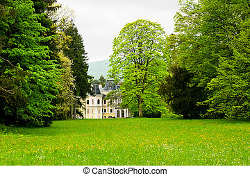 Mansion in the park