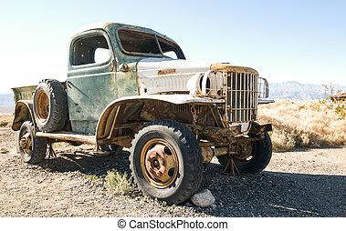 Manson's Old Truck