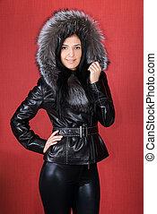 manteau, fourrure
