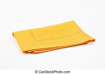 mantel individual, amarillo
