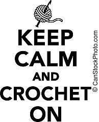 mantenha, pacata, crochet
