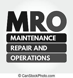 mantenimiento, reparación, operaciones, mro, -