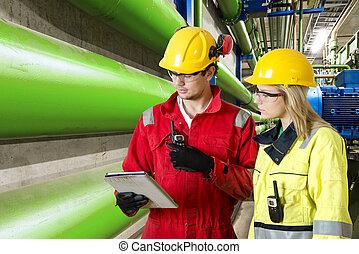mantenimiento, y, inspección