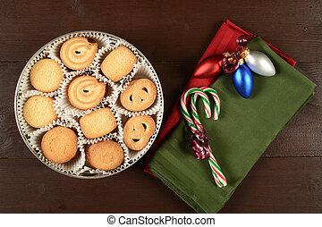 mantequilla, galletas, navidad