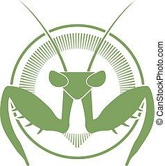 mantis green symbol