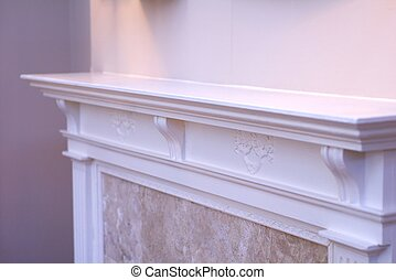 Mantle - fireplace mantle