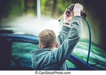 Manual Car Washing Roof Wash