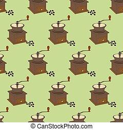 Manual Coffee Grinder Mill pattern