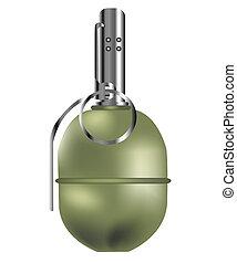 Manual fragmentation grenade - Fragmentation grenade against...