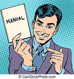 manual, homem