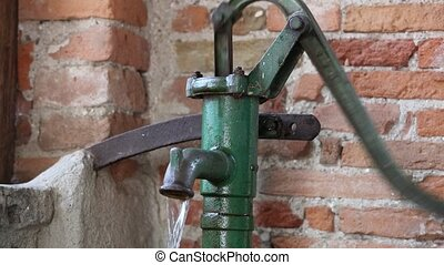 manual pump for old water well