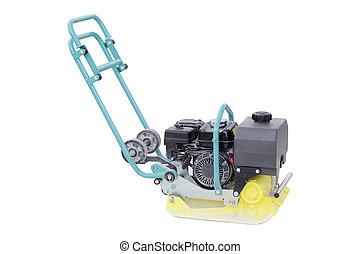 road repair machine - manual road repair machine isolated ...