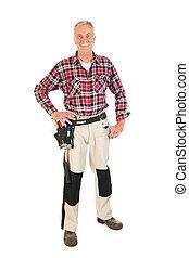 Manual worker - Senior man as manual worker