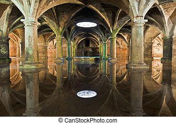 Manueline Cistern at El-Jadida, Morocco - Manueline Cistern...