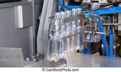 Manufacture of plastic bottles