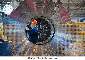 Manufacture of steel pipes for the subsea gas pipeline in...