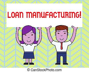 manufacturing., actuación, prestatario, empresarios, proceso...