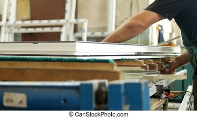 Manufacturing and manufacturing of PVC windows, a man...