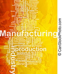 Manufacturing background concept